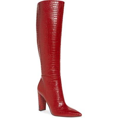 Sam Edelman Raakel Knee High Boot, Burgundy