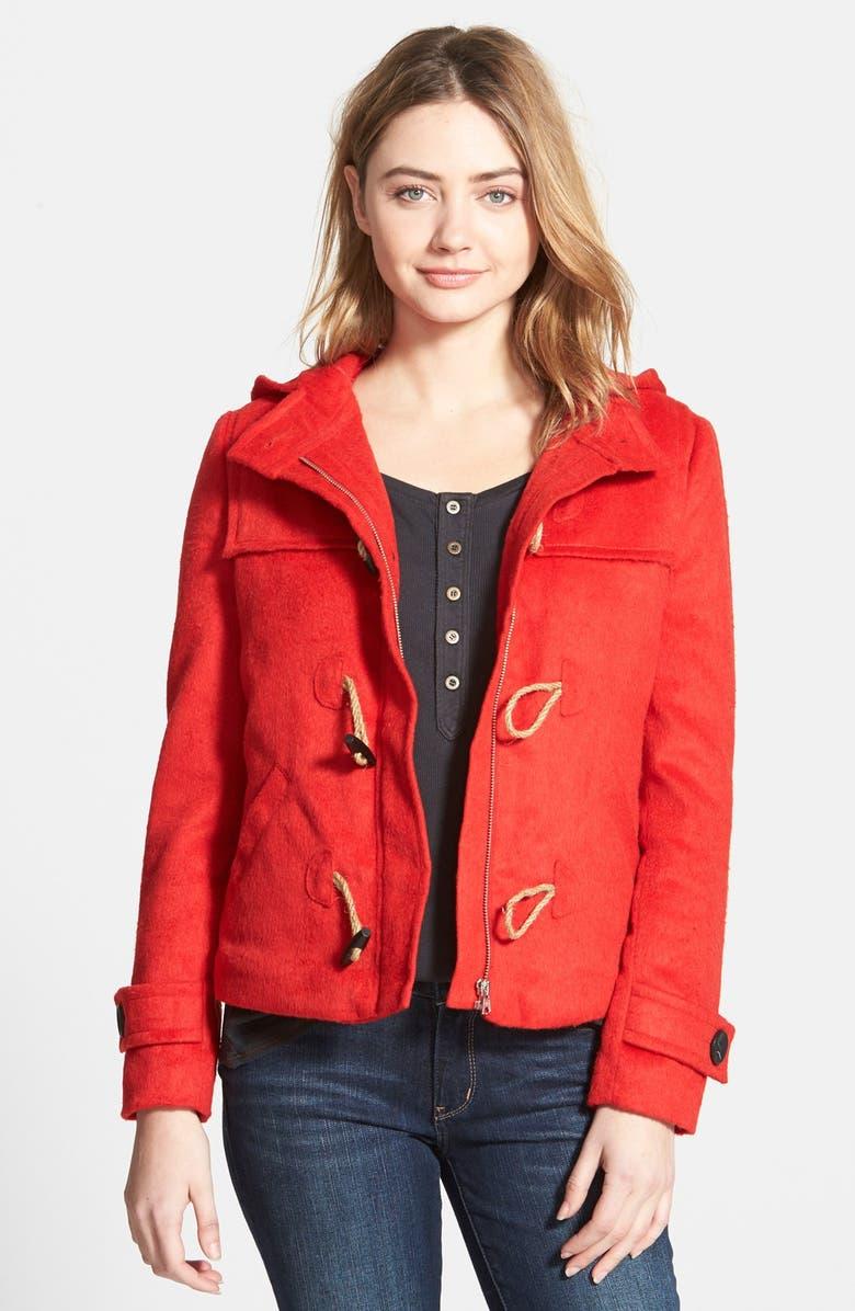 HINGE Duffle Coat, Main, color, 600
