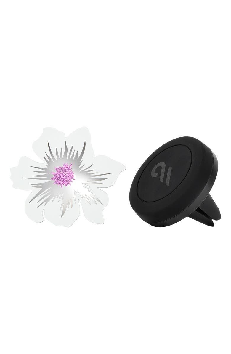 CASE-MATE<SUP>®</SUP> Flower Car Charm Magnetic Vent Mount, Main, color, FLOWER