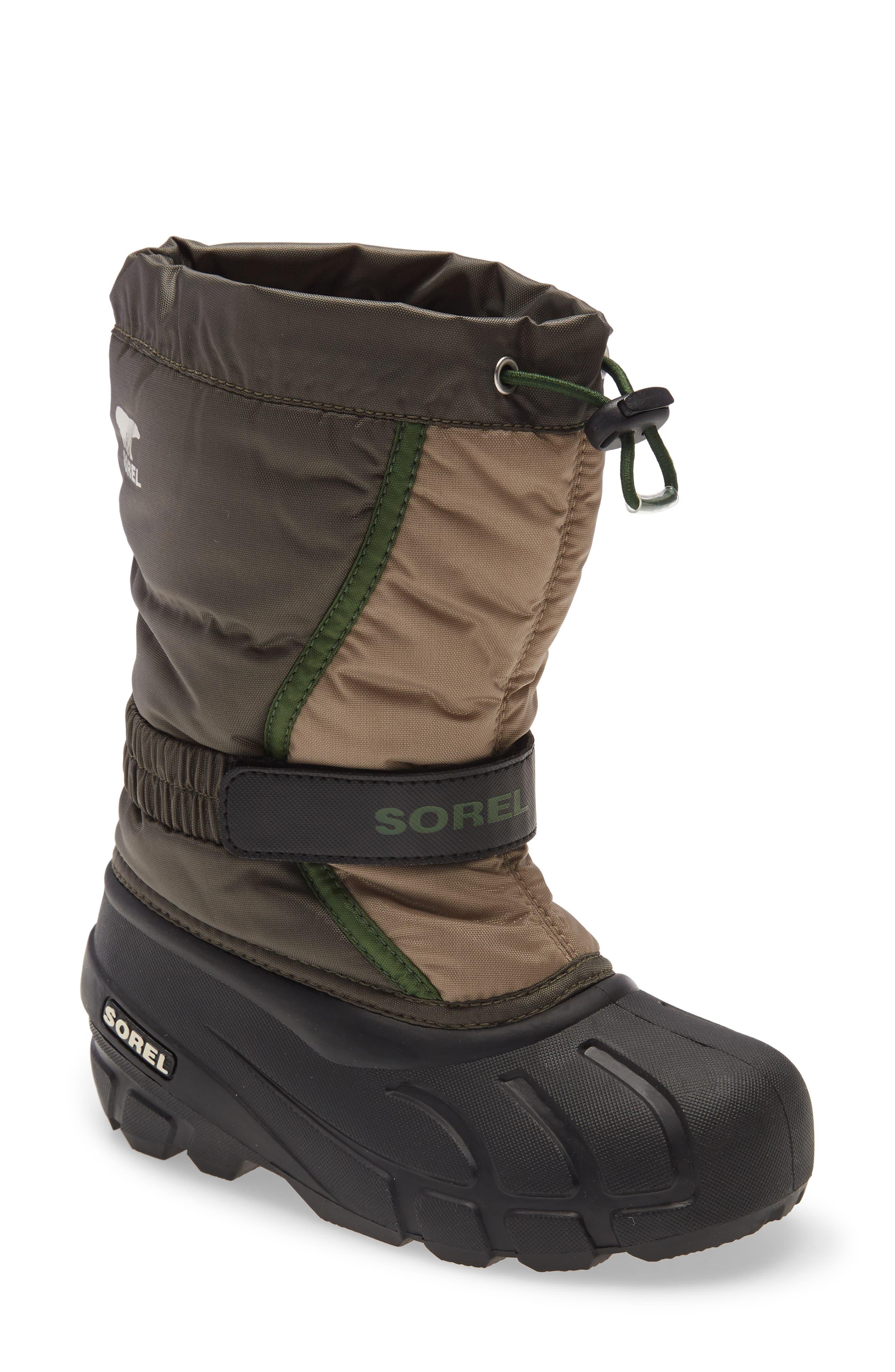 SOREL Flurry Weather Resistant Snow Boot (Walker, Toddler, Little Kid & Big Kid) | Nordstrom