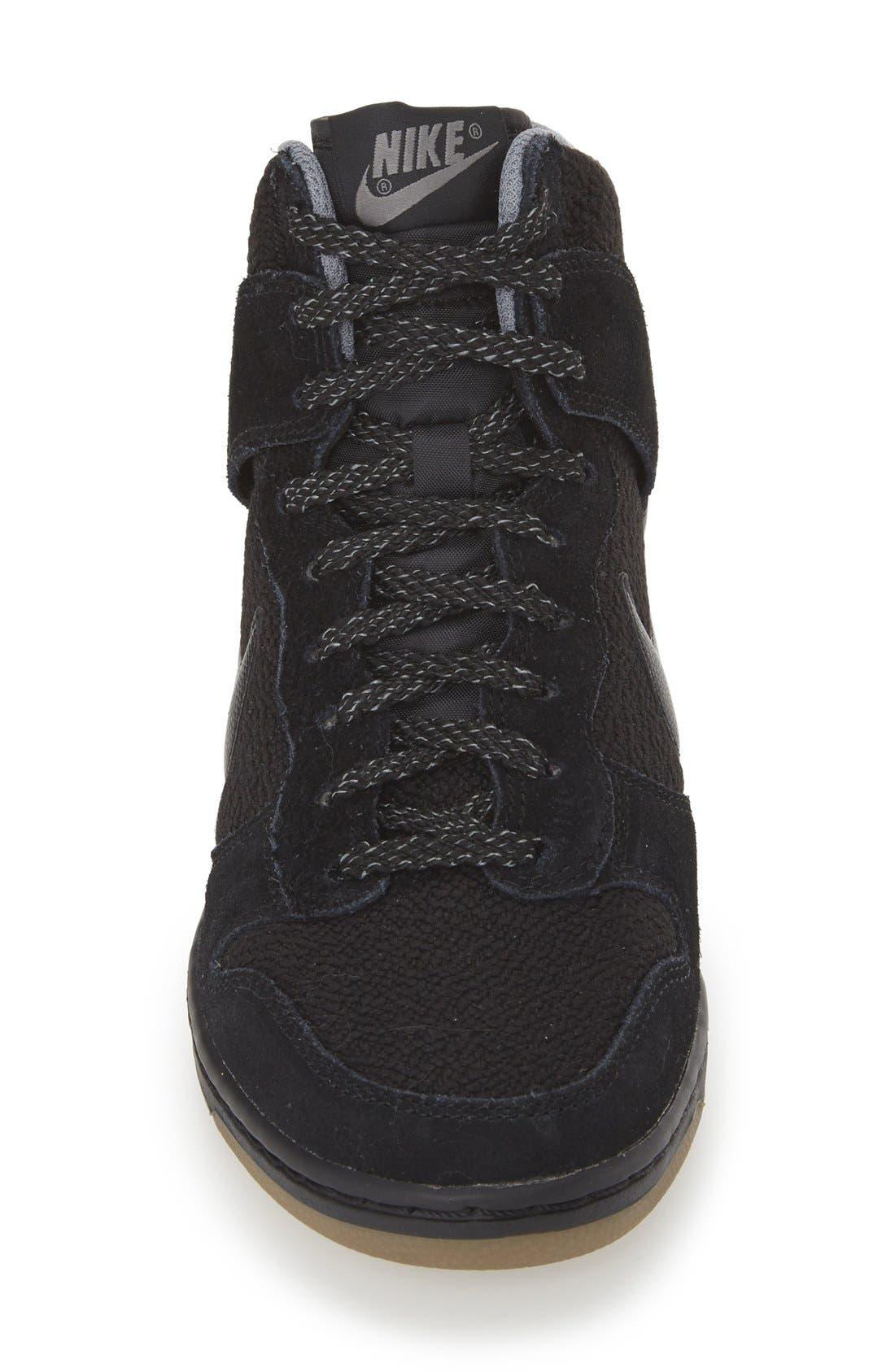 ,                             'Dunk Sky Hi - Essential' Wedge Sneaker,                             Alternate thumbnail 8, color,                             006