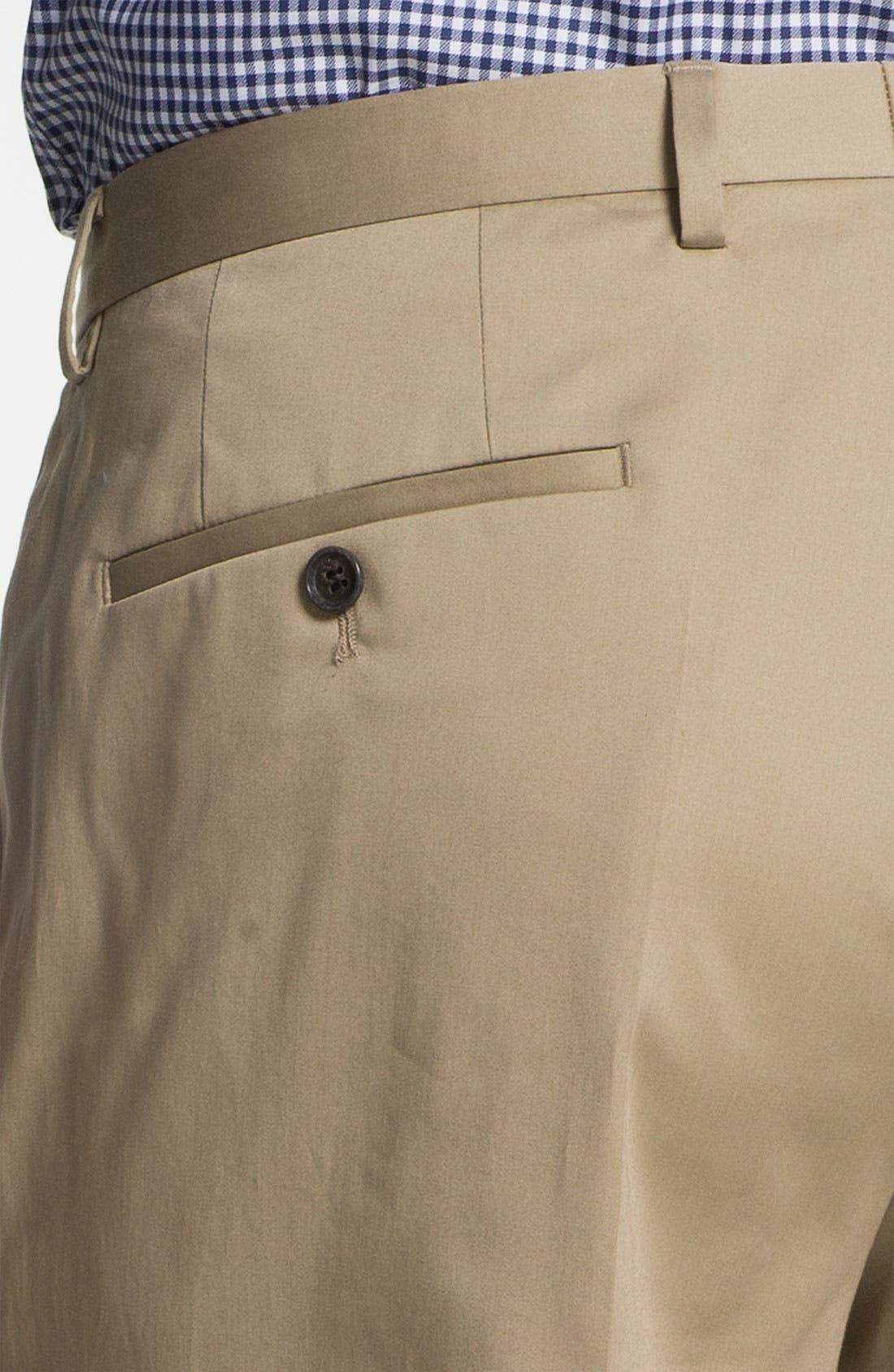 ,                             BOSS Black 'James/Sharp' Cotton Suit,                             Alternate thumbnail 6, color,                             291