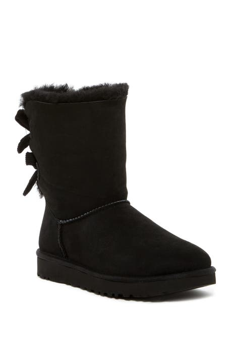 UGG - Bailey Twinface Genuine Shearling &  Bow Corduroy Boot