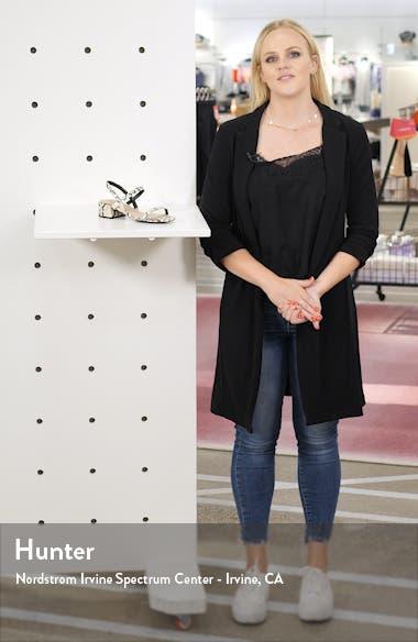 Maisie Genuine Calf Hair Sandal, sales video thumbnail