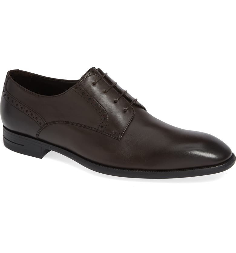 ERMENEGILDO ZEGNA Cap Toe Derby, Main, color, 200