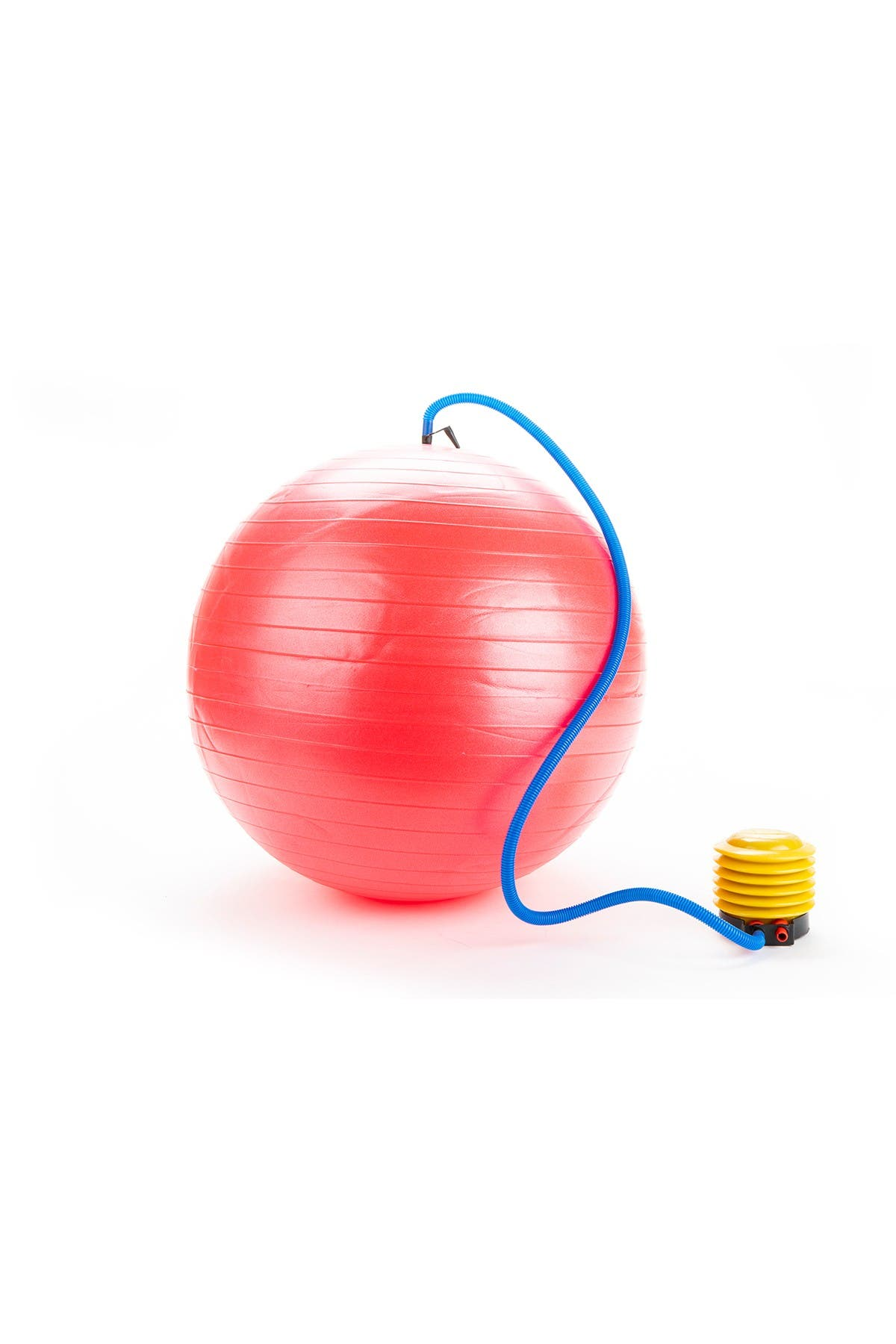 Image of Mindreader Large Exercise Yoga Ball & Quick Pump