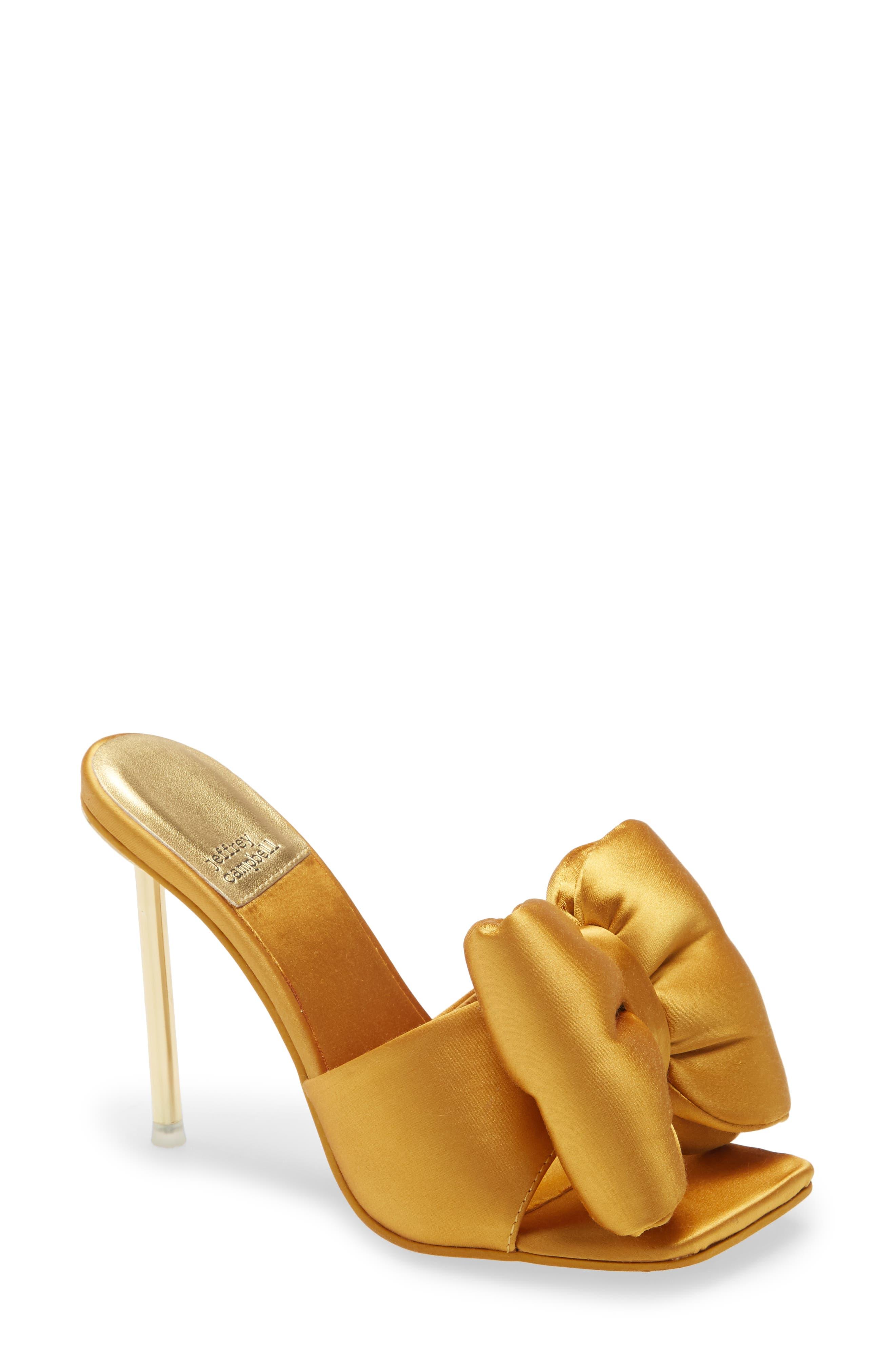 Bow Down Slide Sandal