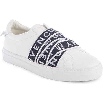 Givenchy Logo Strap Slip-On Sneaker - White