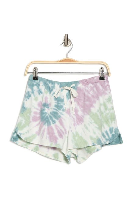 Image of ROW A Tie Dye Lounge Shorts