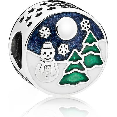 Pandora Winter Scenery Charm