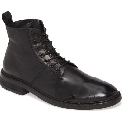Allsaints Mid Plain Toe Boot, Black