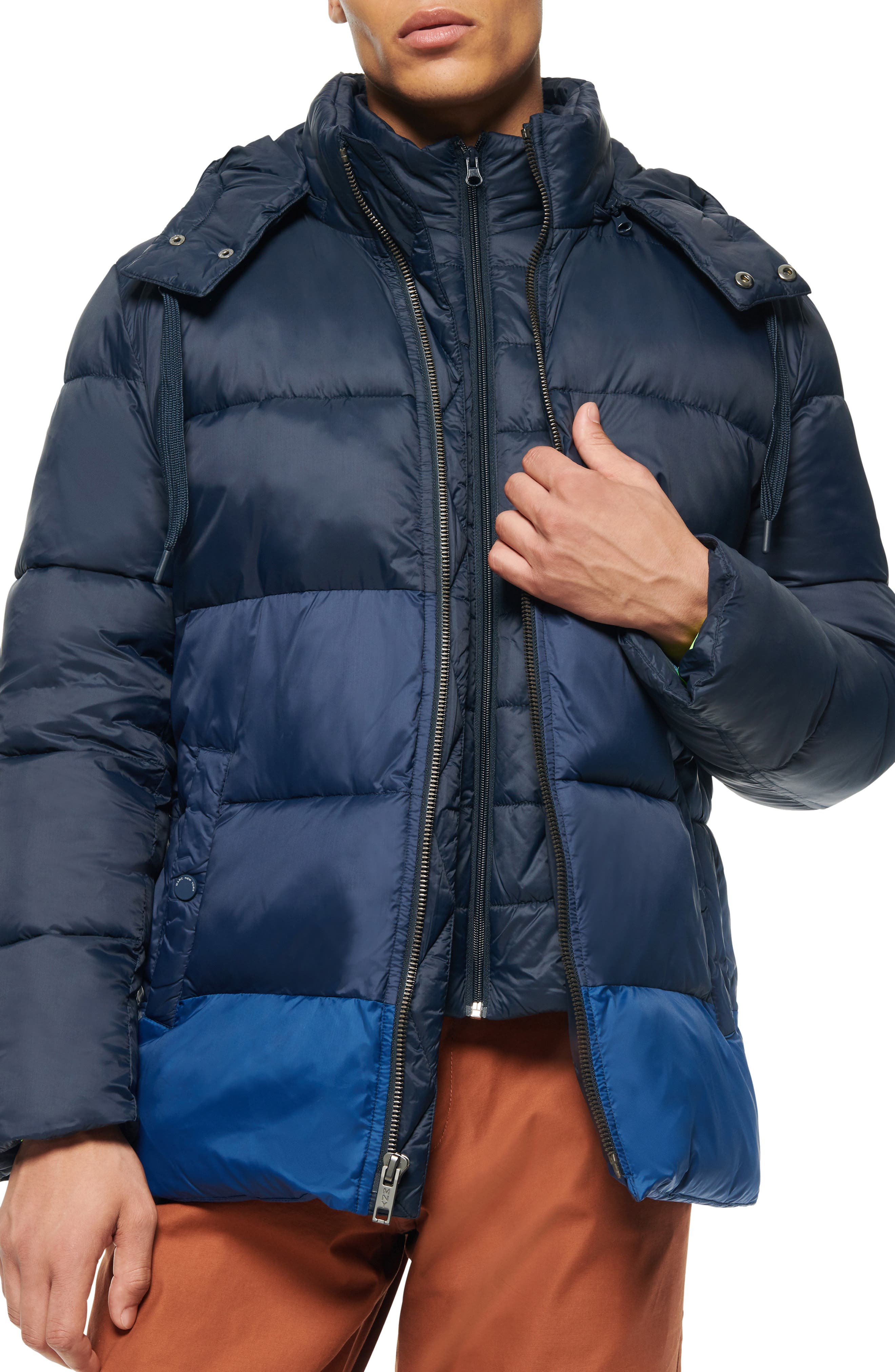 Image of Andrew Marc Dovers Padded Puffer Jacket