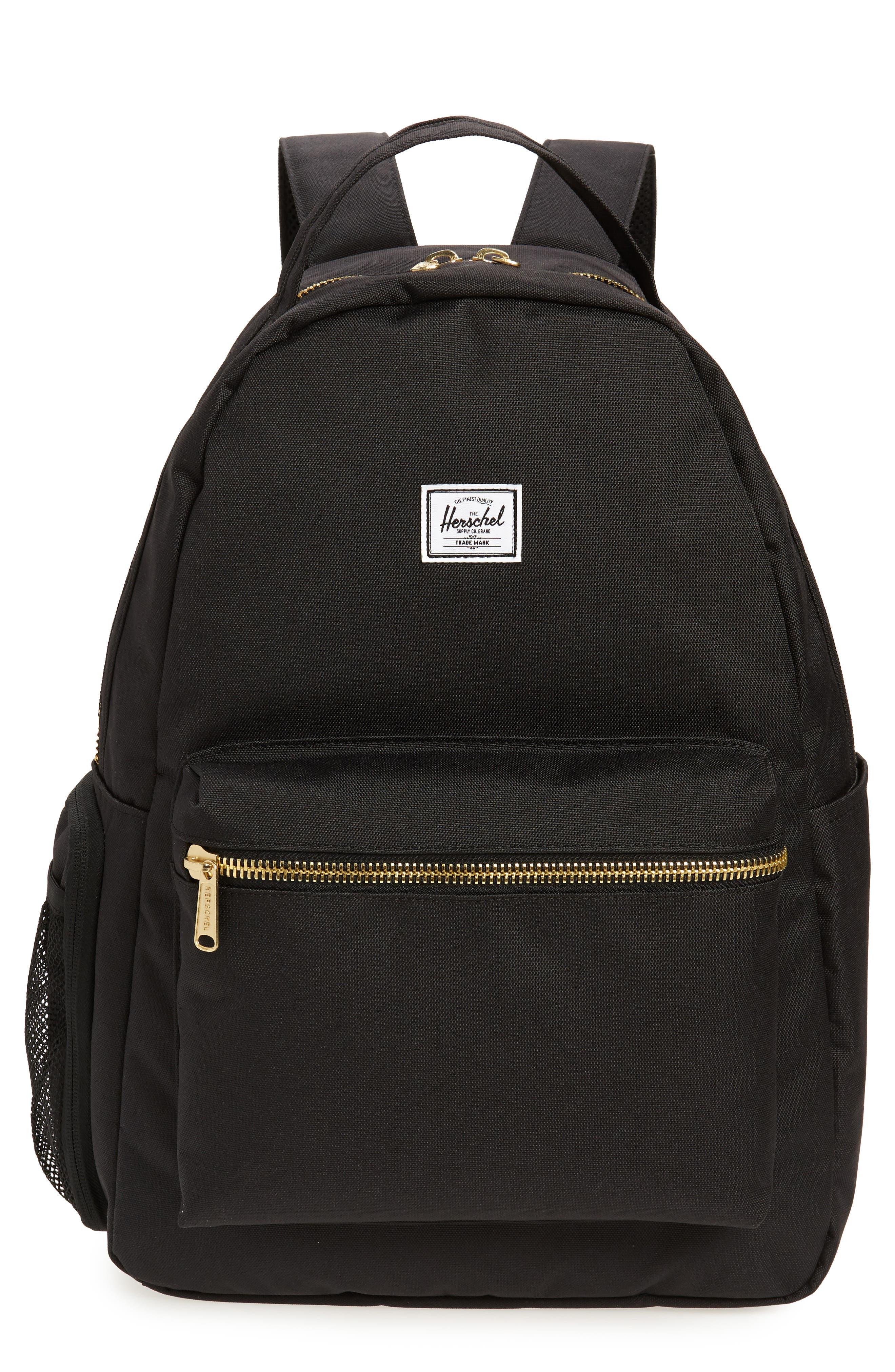 Infant Herschel Supply Co Nova Sprout Diaper Backpack  Black