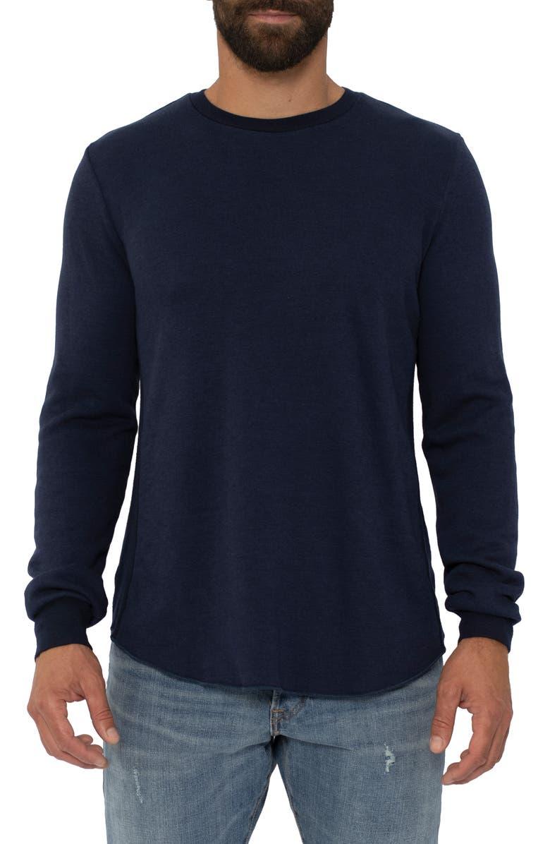 SOL ANGELES Regular Fit Crewneck Sweatshirt, Main, color, INDIGO