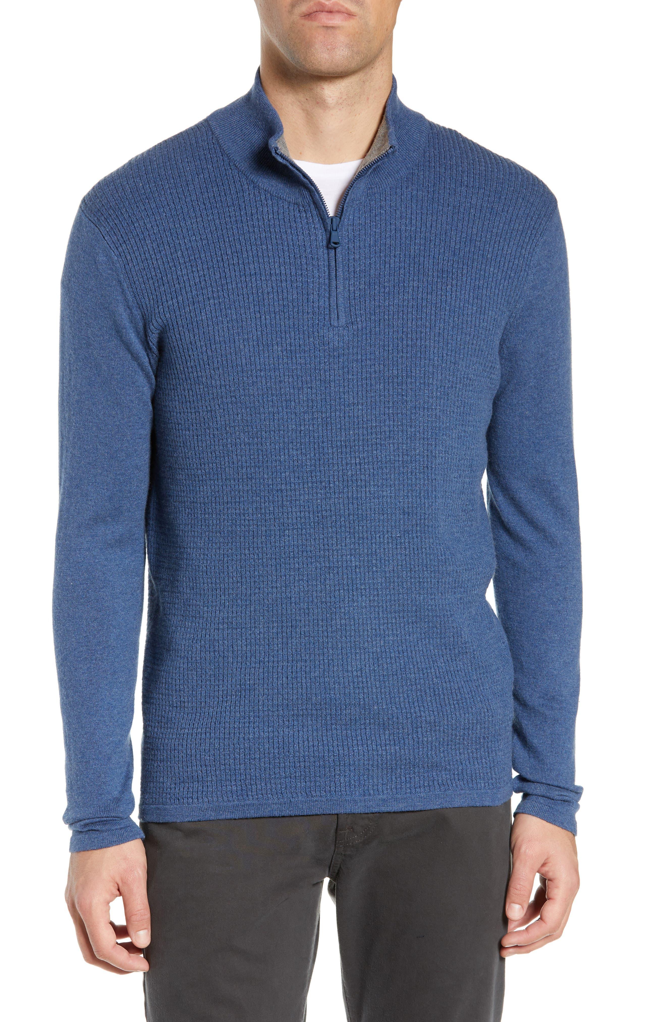 ,                             Higgins Quarter Zip Sweater,                             Main thumbnail 13, color,                             400