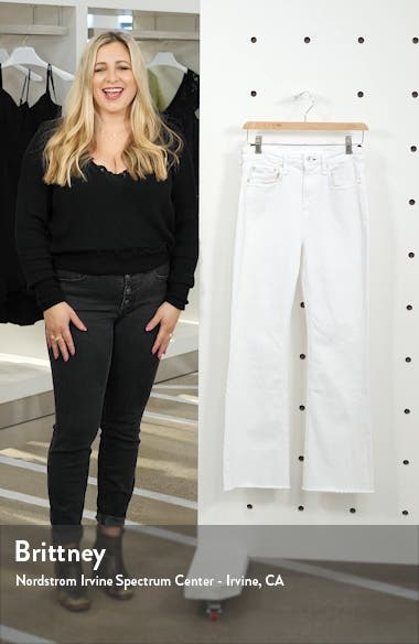 Hana High Waist Ankle Flare Jeans, sales video thumbnail