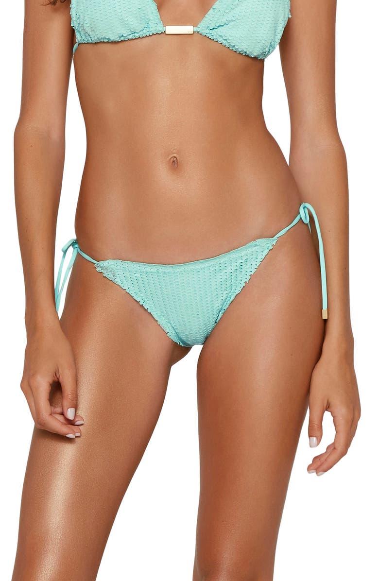 VIX SWIMWEAR Aqua Scales Ripple Bikini Bottoms, Main, color, 440