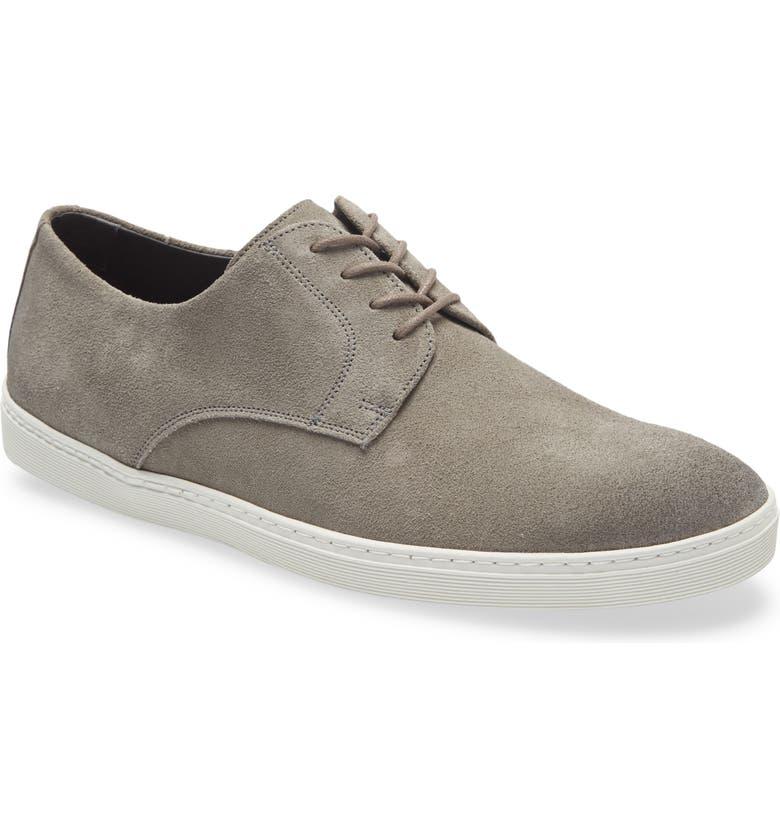 NORDSTROM MEN'S SHOP Torrance Sneaker, Main, color, GREY SUEDE