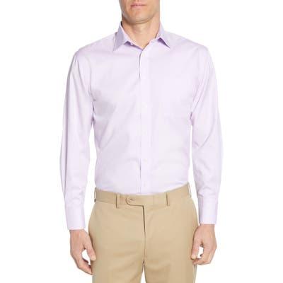 Nordstrom Shop Smartcare(TM) Traditional Fit Dress Shirt - Purple