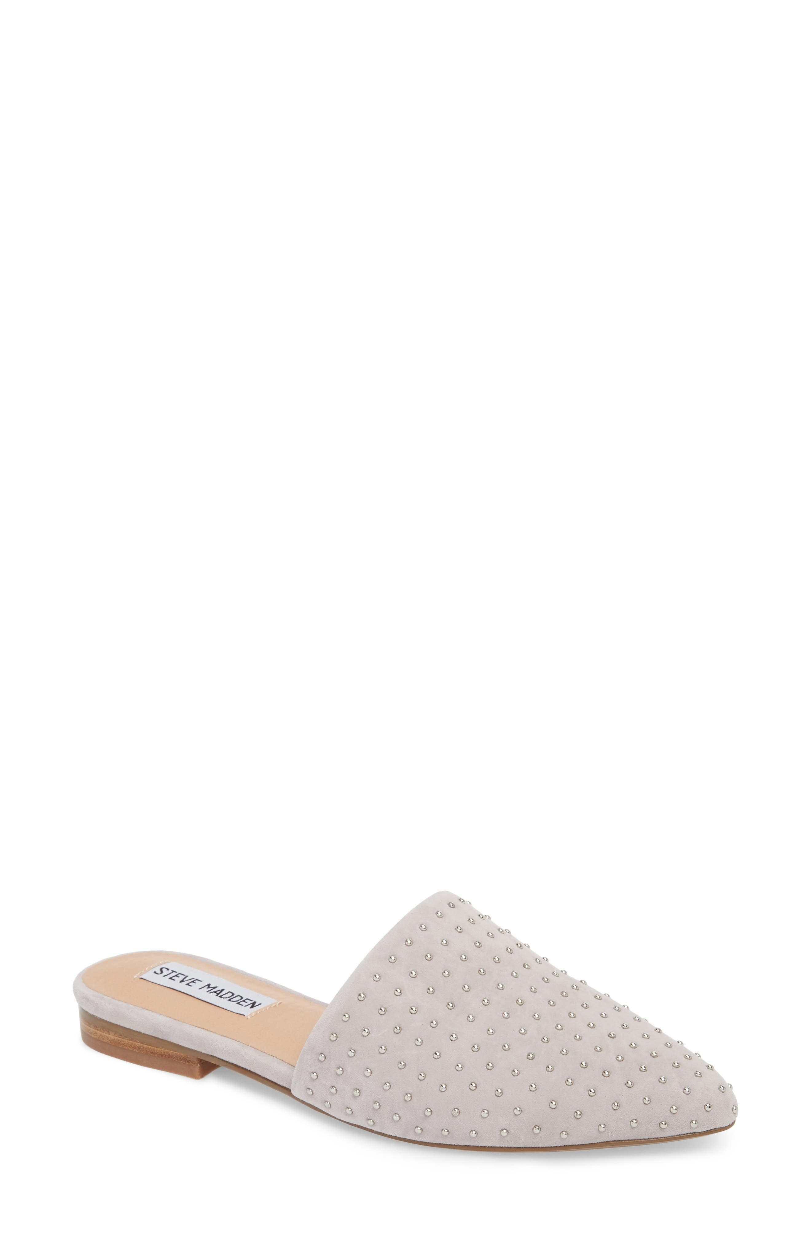 ,                             Trace Studded Mule,                             Main thumbnail 15, color,                             020