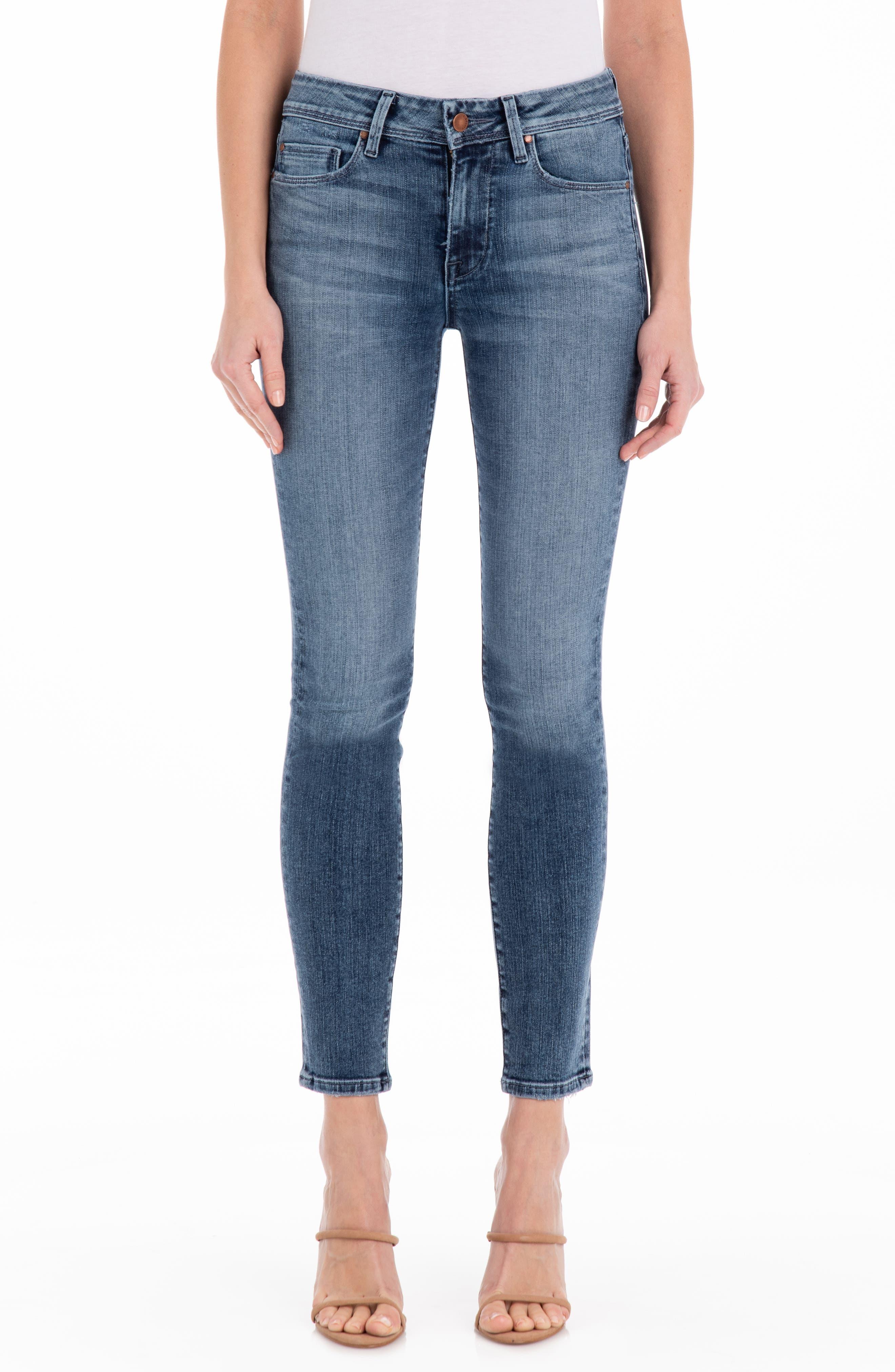 Women's Fidelity Sola Mid Rise Skinny Jeans