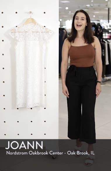 Floral Lace Shift Dress, sales video thumbnail
