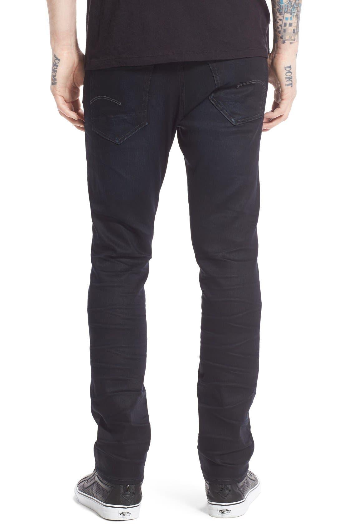 ,                             '3301 Slander' Slim Fit Jeans,                             Alternate thumbnail 2, color,                             404