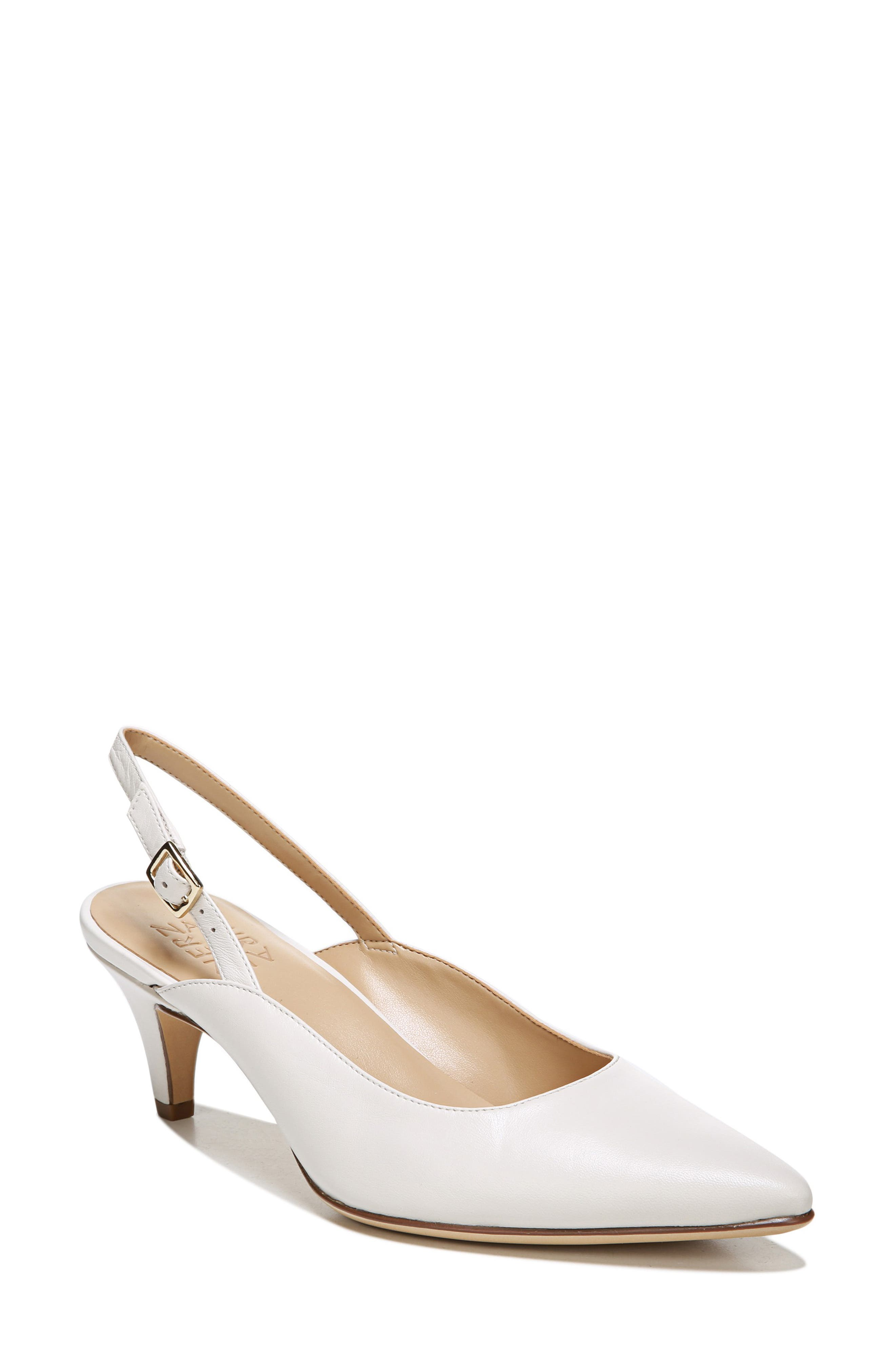 Naturalizer Baylee Slingback Pump, White
