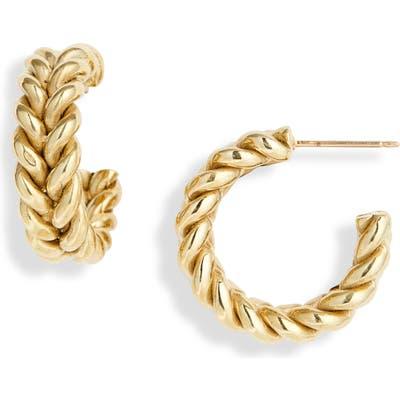 Laura Lombardi Grana Hoop Earrings