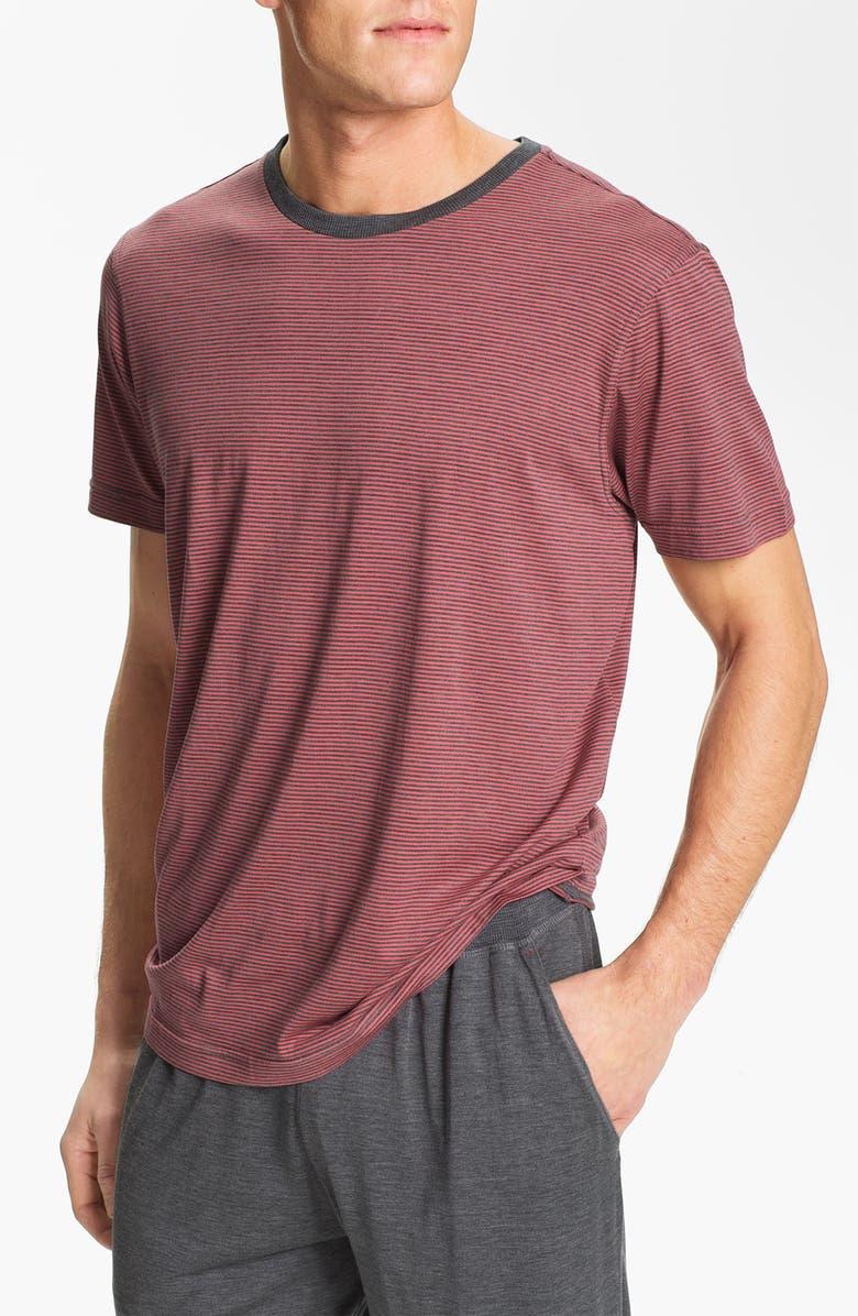 DANIEL BUCHLER Crewneck Silk Blend T-Shirt, Main, color, 841