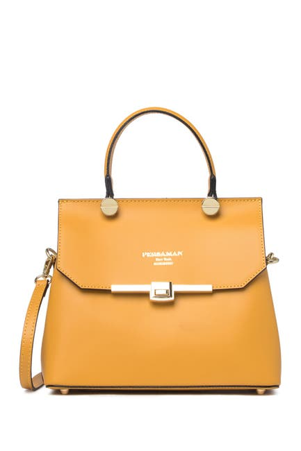 Image of Persaman New York Lucille Leather Crossbody Bag