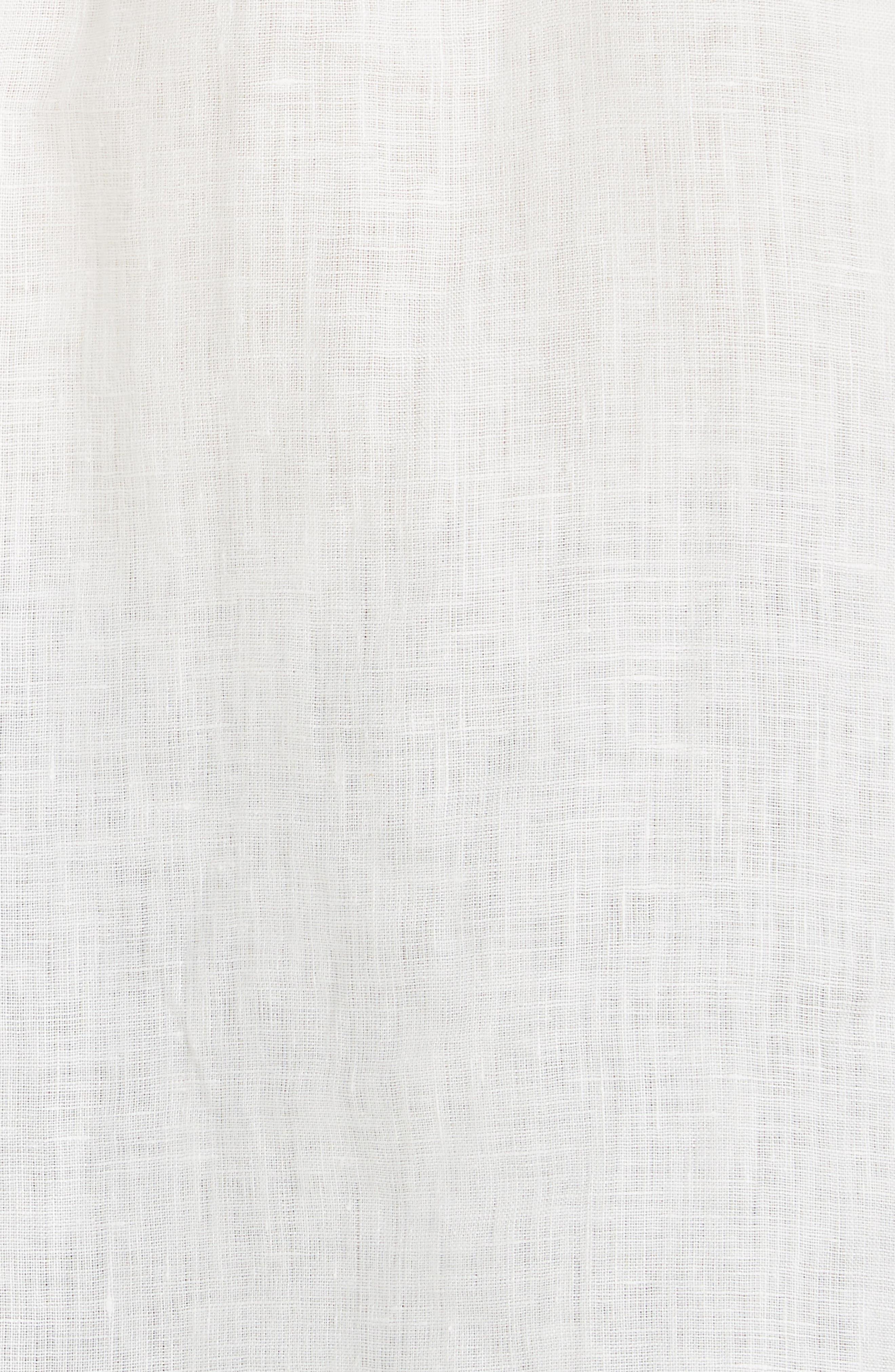 ,                             Emma Linen Shirt,                             Alternate thumbnail 5, color,                             NATURAL