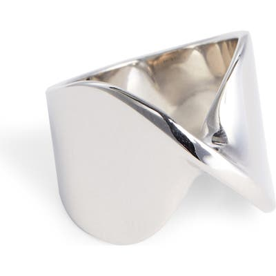 St. John Collection Open Twist Metal Ring