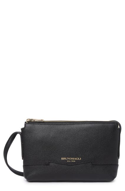 Image of Bruno Magli Easy Leather Crossbody Bag