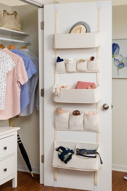 Image of Honey-Can-Do Over-the-Door Hanging Organizer