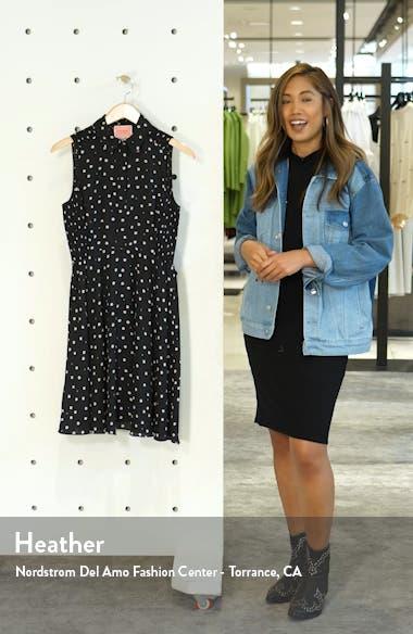 daisy dot shirtdress, sales video thumbnail