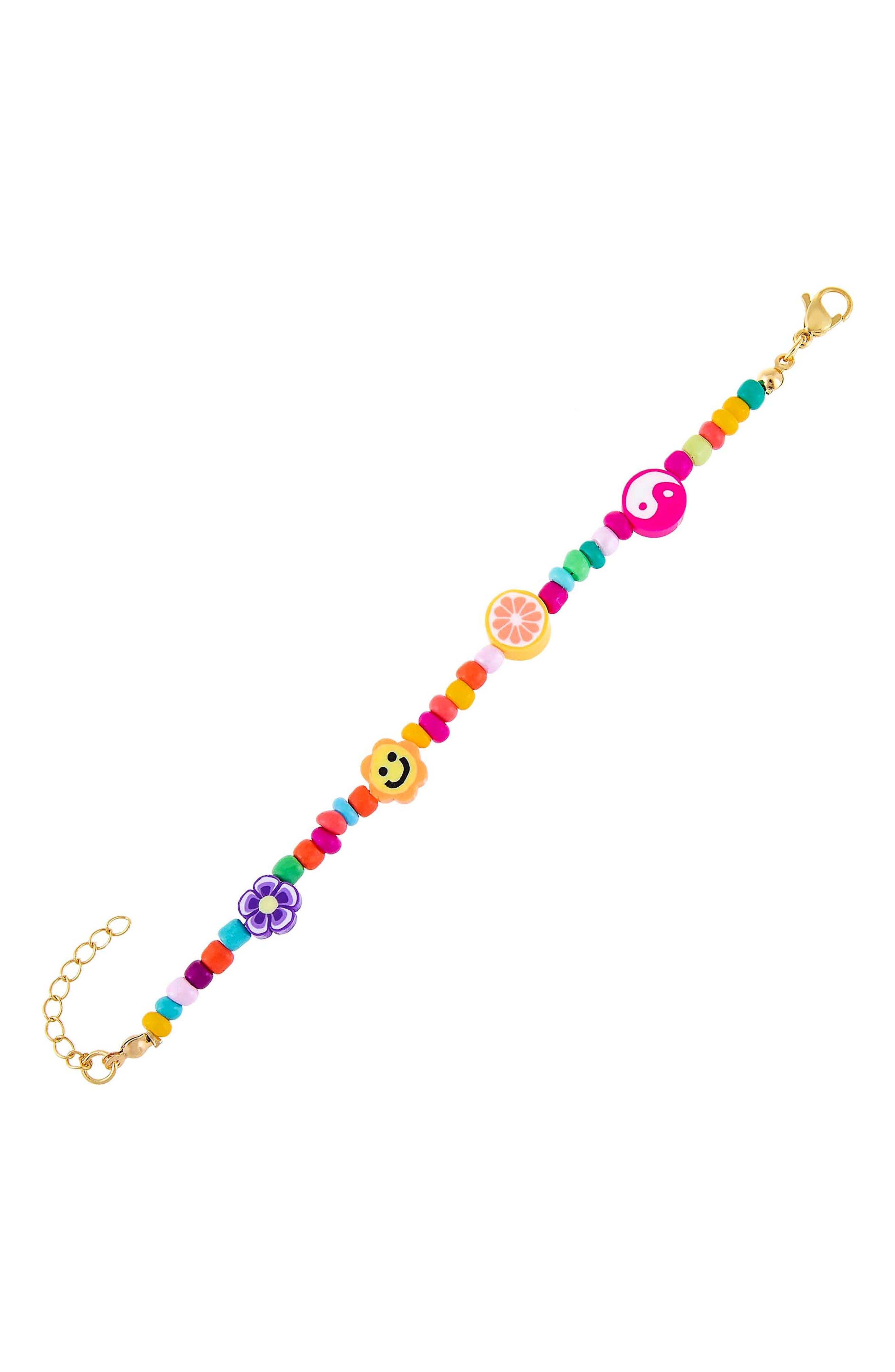 Women's Adina's Jewels Neon Beaded Bracelet