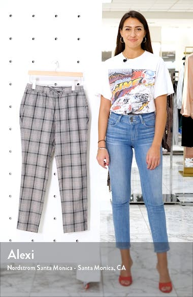 Whyatt Slim Fit Plaid Dress Pants, sales video thumbnail