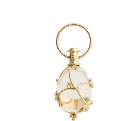 Temple St. Clair Vine Diamond & Rock Crystal Amulet