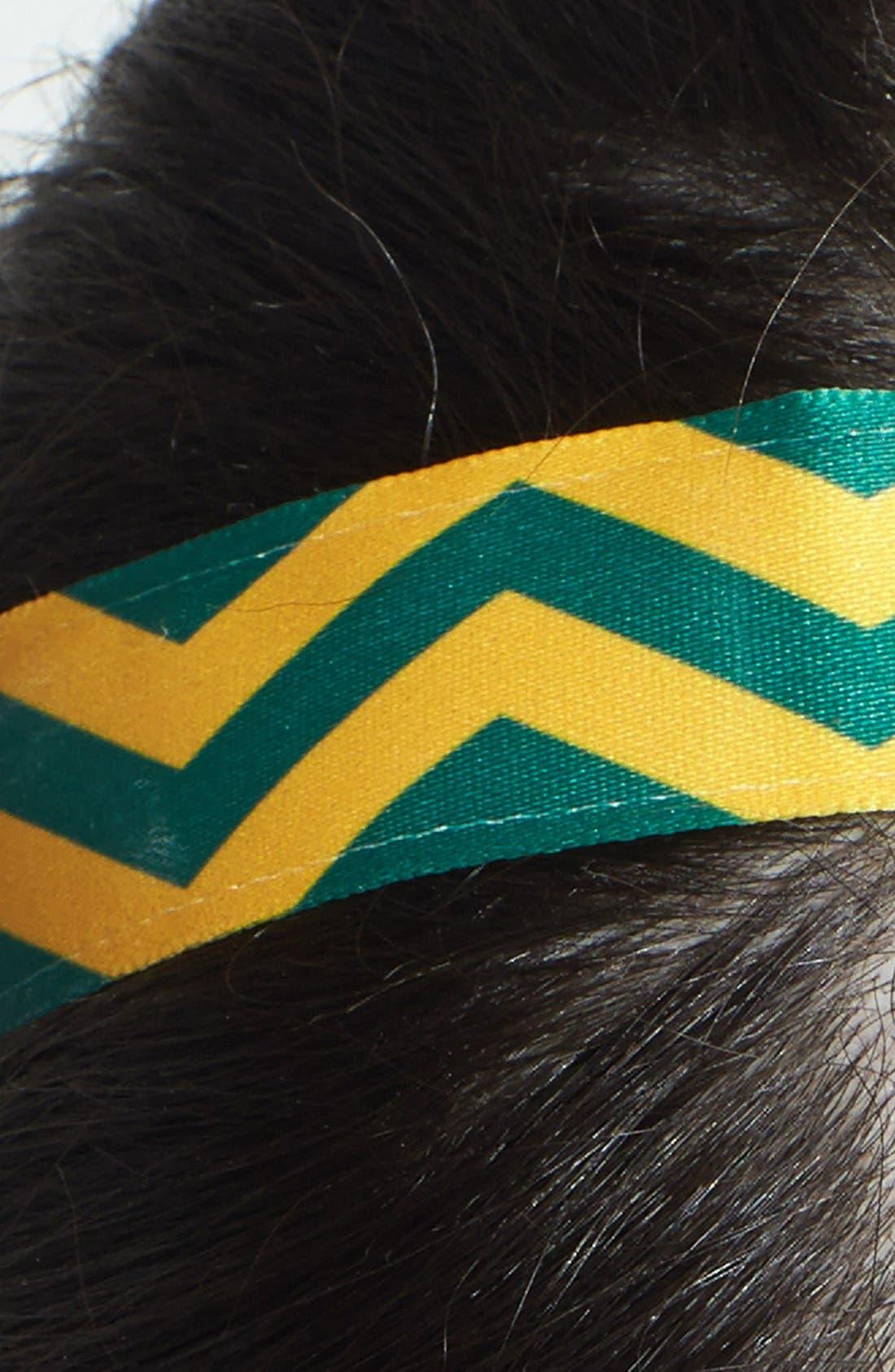 ,                             'Chevron Slide' Head Wrap,                             Alternate thumbnail 8, color,                             300