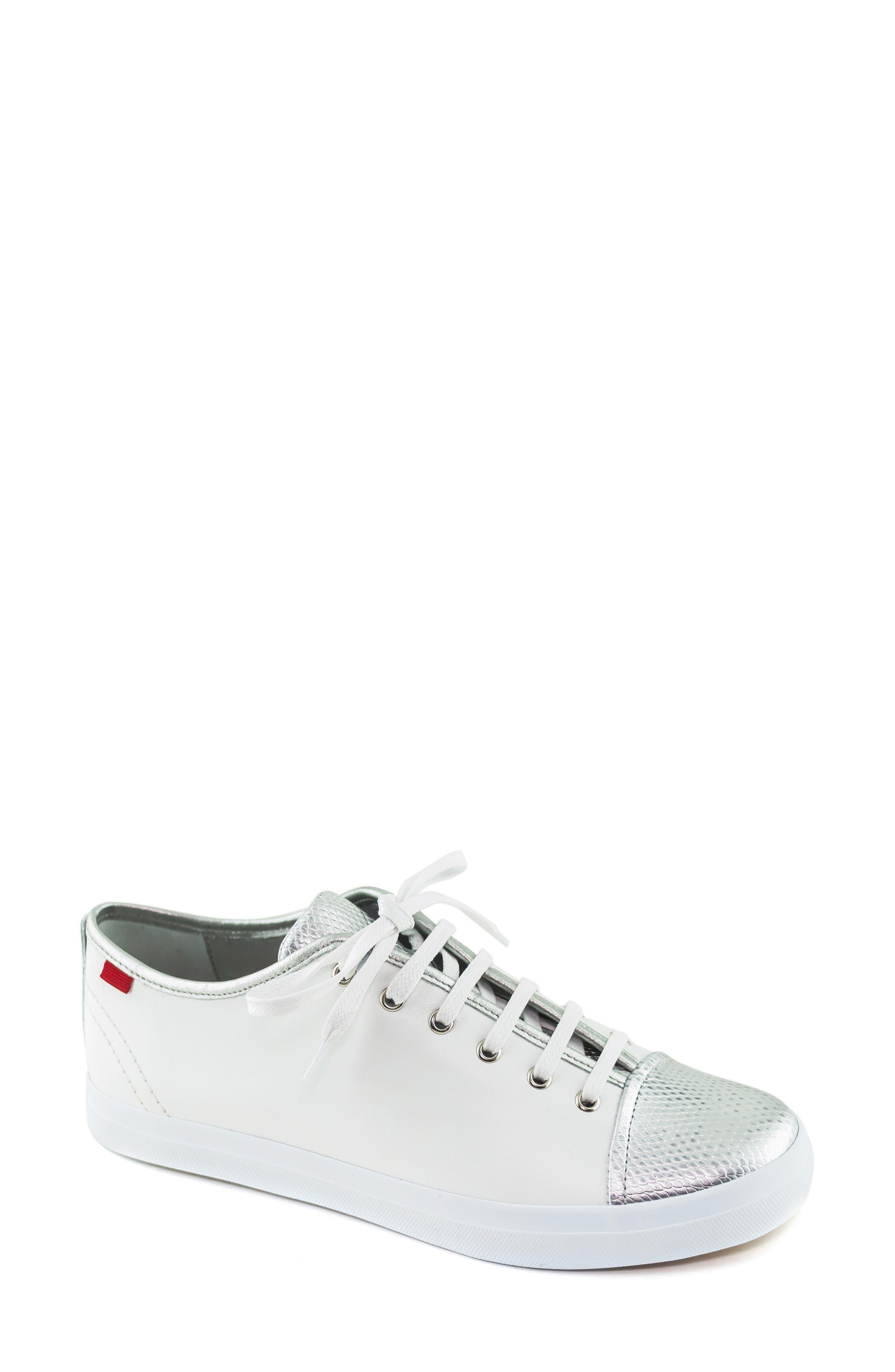 Marc Joseph New York Bleecker Street Sneaker, White