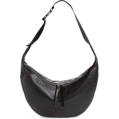 Rag & Bone Riser Leather Hobo - Black