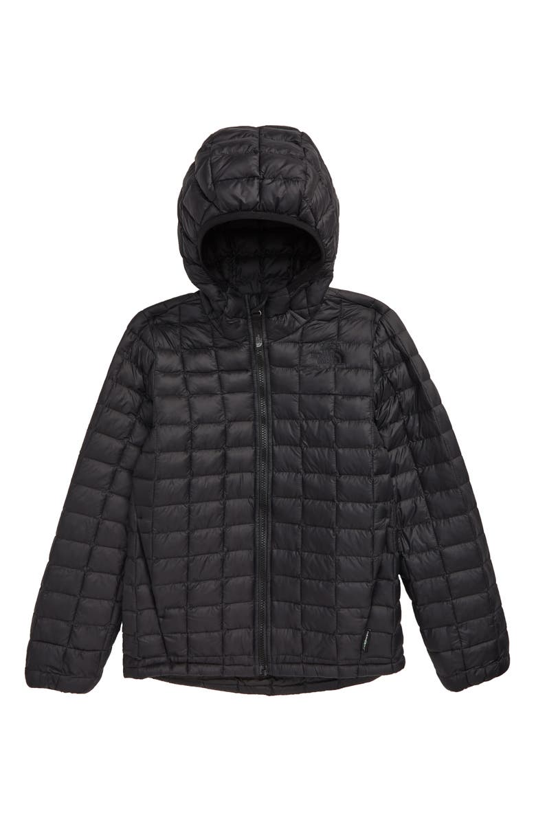 THE NORTH FACE ThermoBall<sup>™</sup> Eco Hooded Jacket, Main, color, TNF BLACK