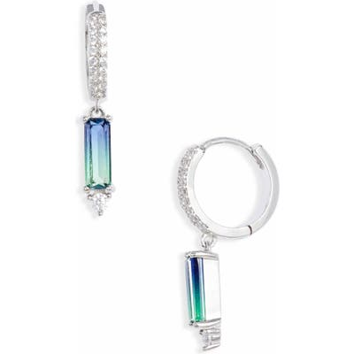 Nordstrom Ombre Baguette Drop Earrings