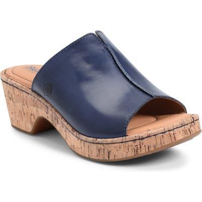 B?rn Asho Slide Sandal, Blue