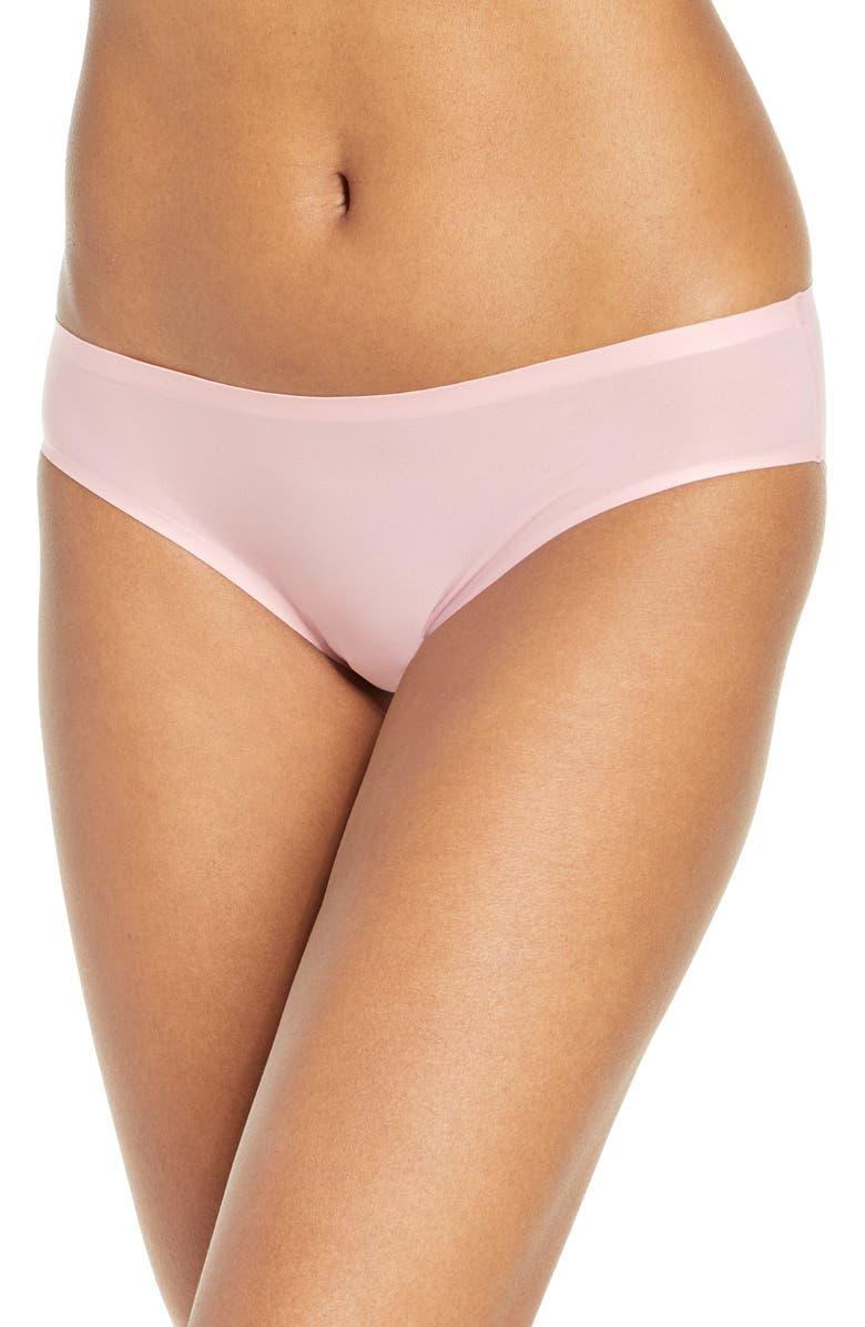 CHANTELLE LINGERIE Soft Stretch Seamless Bikini, Main, color, ROSE TUTU