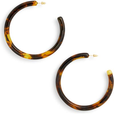 Cult Gaia Large Geneva Tubular Hoop Earrings