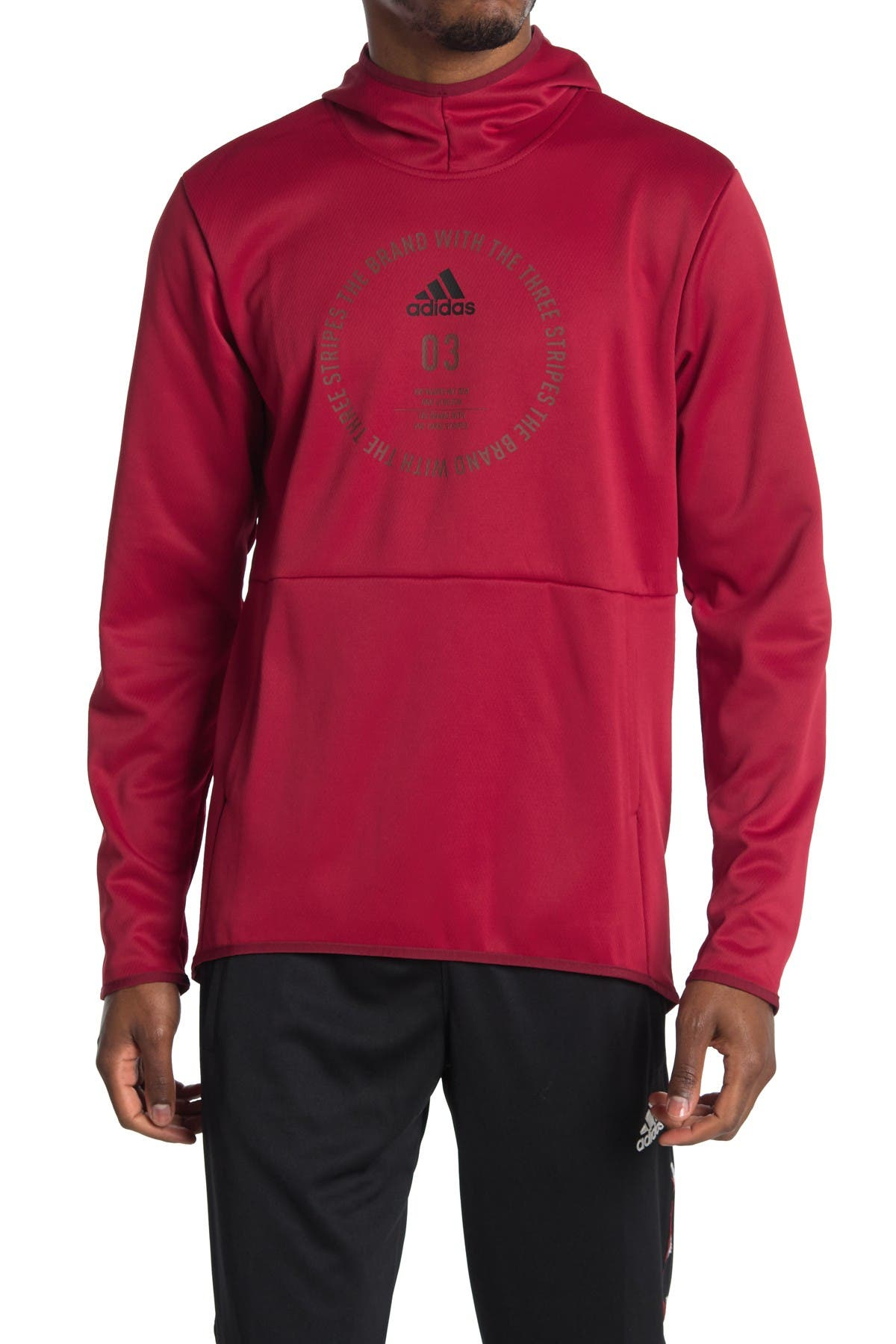 Image of adidas Team Issue Badge of Sport Hoodie