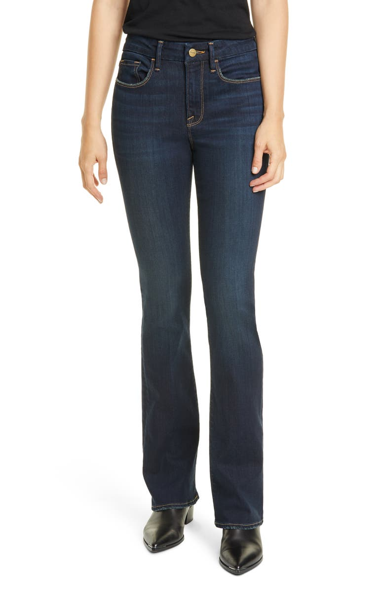 FRAME Le Mini Boot Jeans, Main, color, COPA