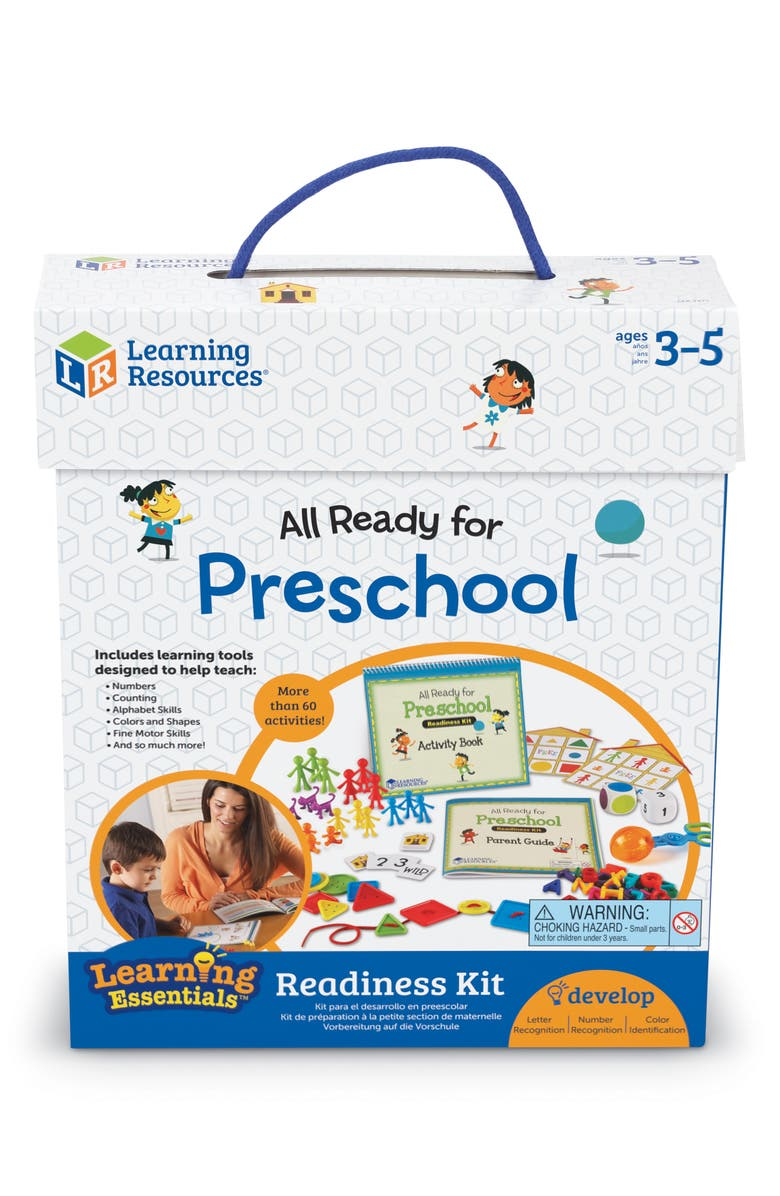 LEARNING RESOURCES All Ready For Preschool Reading Set, Main, color, MULTI